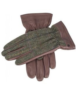 Richmond Leather And Wool Gloves