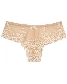 Embrace Lace Blush Briefs - Size S
