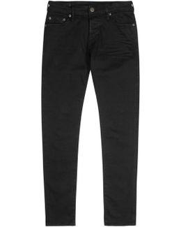 Tony Black Skinny Jeans - Size W34/l32