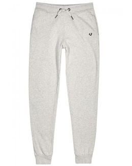 Grey Cotton Jogging Trousers