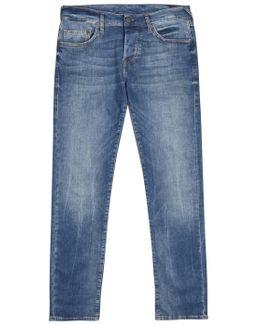 Rocco Light Blue Skinny Jeans - Size W34/l32