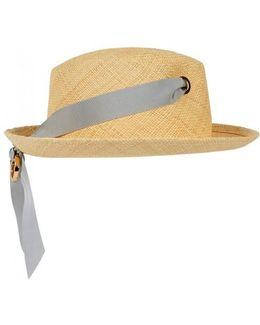 Sand Straw Panama Hat