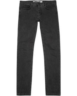 Grey Slim-leg Jeans