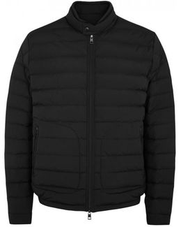 Acorus Black Quilted Shell Jacket - Size 4