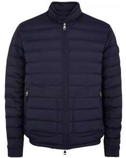 Acorus Navy Quilted Shell Jacket - Size 4