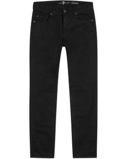 Slimmy Black Slim-leg Jeans - Size W32