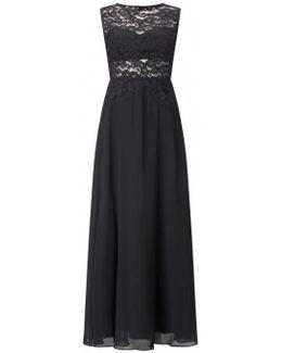 Illusion Lace Evening Dress