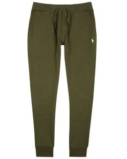 Olive Jersey Jogging Trousers