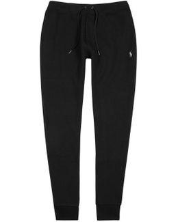 Black Jersey Jogging Trousers