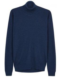 Redmayne Roll-neck Merino Wool Jumper