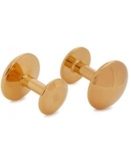 James 24kt Gold-plated Cufflinks