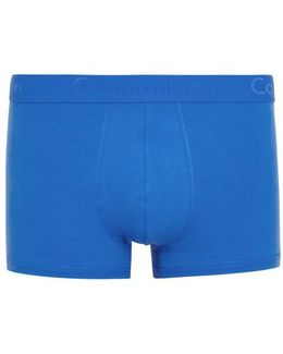 Infinite Blue Stretch Cotton Boxer Briefs