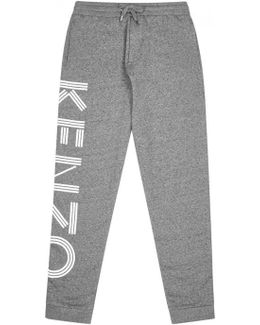 Grey Jersey Jogging Trousers