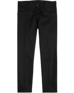 Skater Black Skinny Jeans