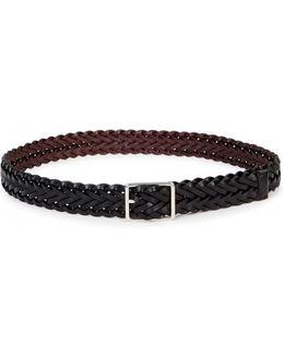 Black Reversible Leather Belt