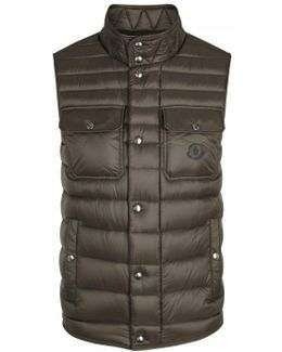 Ever Olive Quilted Shell Gilet