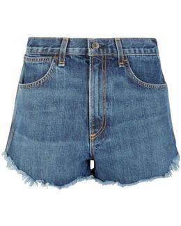 Cha Cha Blue Denim Shorts