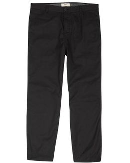 Shadow Cotton And Linen Blend Trousers