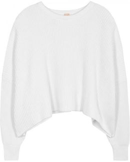 Pier Ribbed Cotton Jumper