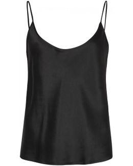 Black Silk Camisole