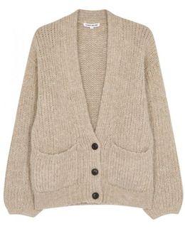 Stone Chunky-knit Cardigan
