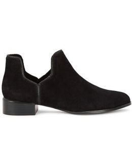 Bailey Viiii Black Suede Ankle Boots