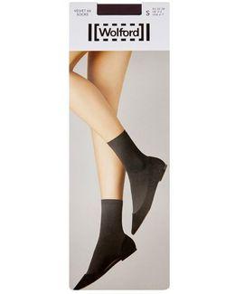 Velvet 66 Purple Socks