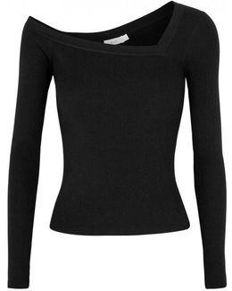 Aria One-shoulder Wool Blend Jumper