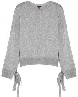 Grey Mãlange Jersey Sweatshirt