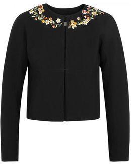 Brett Black Embellished Jacket