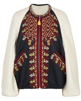 Two Faced Embroidered Bouclã-knit Jacket
