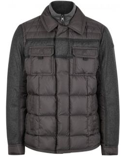 Blais Wool And Quilted Shell Jacket