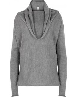 Granche Grey Wool Jumper
