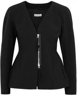 Campion Black Crepe Jacket