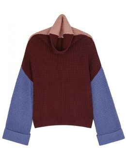 Park City Chunky-knit Cotton Blend Jumper