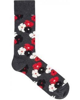 Kimono Cotton Blend Socks