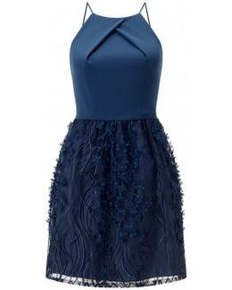 Applique Cocktail Dress