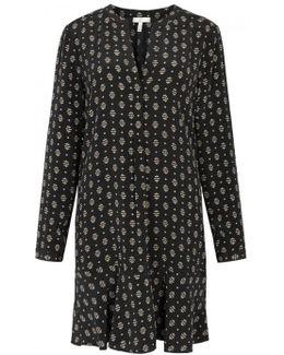 Elroya Printed Silk Tunic Dress