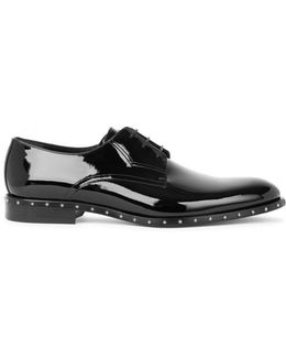 Axel Black Patent Leather Oxford Shoes