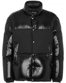 Aynard Quilted Glossed Shell Jacket