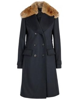 Delmere Wool And Cashmere Blend Coat