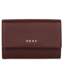 Chelsea Burgundy Leather Wallet