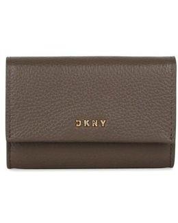 Chelsea Grey Leather Wallet