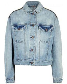 Glam Embellished Denim Jacket