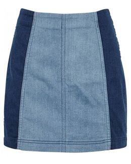 Modern Femme Denim Mini Skirt
