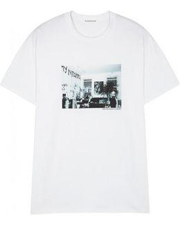 Flagstuff X Dave Schubert X Cotton T-shirt