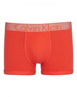 Customised Stretch Orange Boxer Briefs