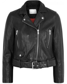 Aldira Black Leather Jacket