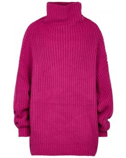 Swim Too Deep Cotton Blend Jumper