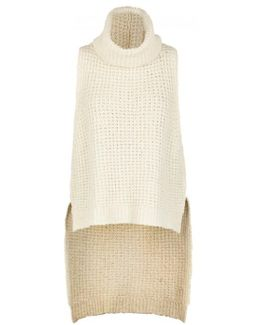 Sky Scraper Chunky-knit Cotton Blend Jumper